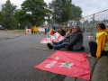 Protest at Büchel Airfield Main Gate