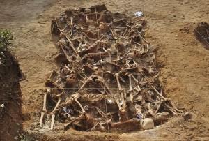 Massagraf in Spanje ten gevolge van de burgeroorlog (Bron: Wikipedia)