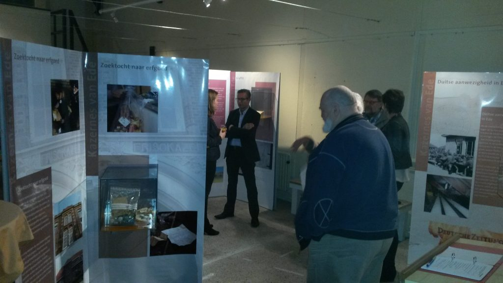 Opening Expositie 'Kazernes van Ede'