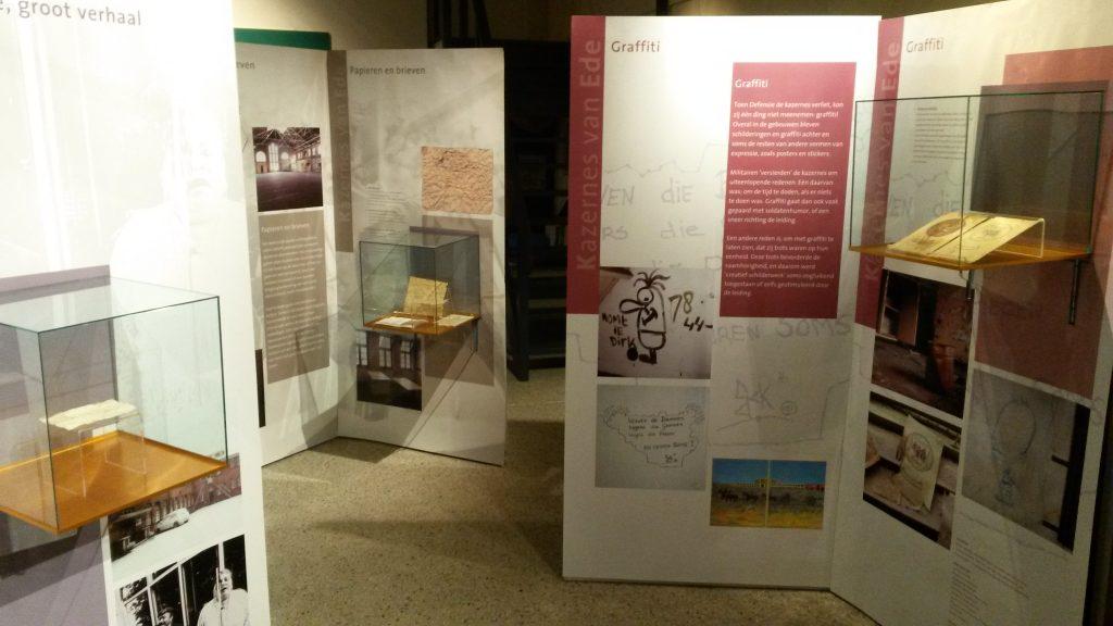 Opeing expositie 'Kazernes van Ede'