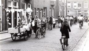 Foto van acties van de Vrouwenbeweging Wageningen (foto - Pien van Dael)